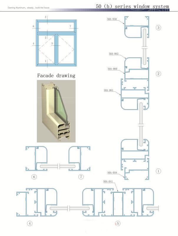 Aluminum Door: Jindal Aluminum Door Sections