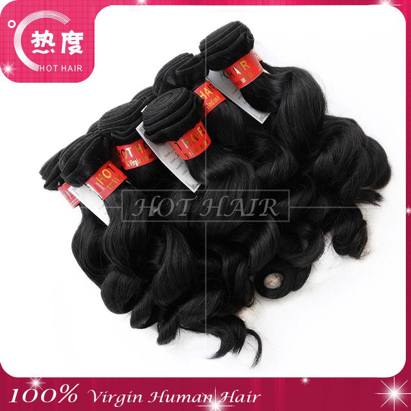Cabelo Humano Barato Cabelo Organico 100% Brazilian Loose Wave Hair