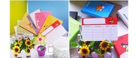 2013 cute animal Personalized Postcards / Message Card, free shipping 10 pic/lot