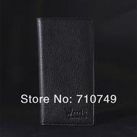 натуральная воловья кожа длинный кошелек для человека, гарантирует качество 100% новый Мужская мода кошелек