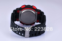 Наручные часы new watches men g shors fashion electronic watches, dazzle watches, fashion watches Black and red