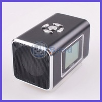 Аудио колонка Mini Speaker TF Micro SD Music Player FM Radio With Screen Sound box DHL