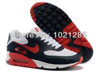 Мужская обувь для бега Hotsale Nike air max 90 men's sports running shoes size 40-46 Натуральная кожа Шнуровка