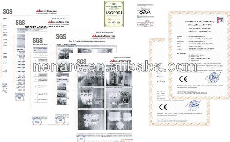 C65 высокое качество CE утвердить выключатель 2 P 40A