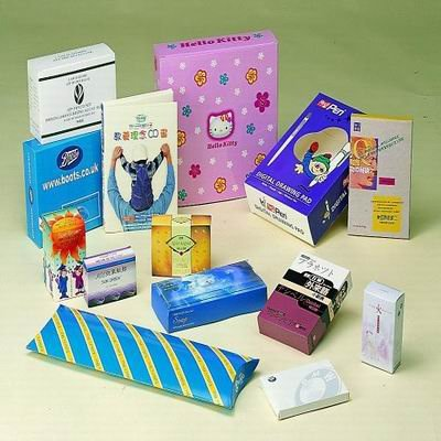 white card or corrugater paper packing box for wholeseller