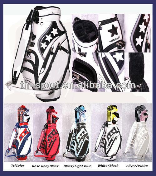 Unique China Star Logo Golf Bag Manufacturer