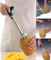 Нож для снятия цедры, кожуры Stainless Steel Fruit Pineapple Corer Slicers Peeler Parer Cutter Knife Kitchen Easy Tool cut device peeling knife