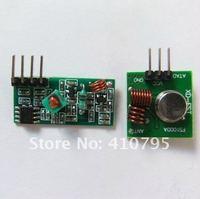 Запчасти и Аксессуары для инструментов 433MHZ Superregeneration Wireless Transmitter Module Burglar Alarm+ Receiver Module