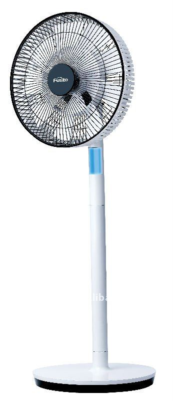 12V DC rechargeable fan(9 wind speed, timer function,remote control)