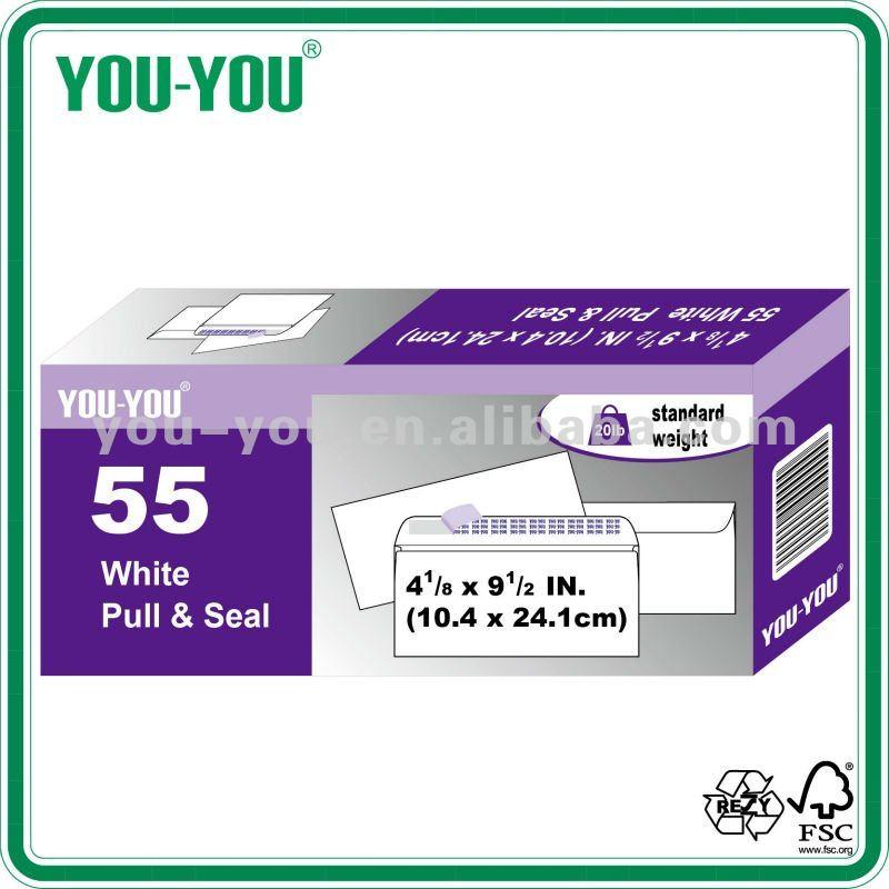 #10 cheap peal &seal white envelopes