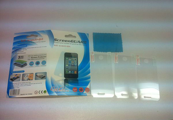 Factory supply OEM HD & AG screen protector for new Retina ipad mini