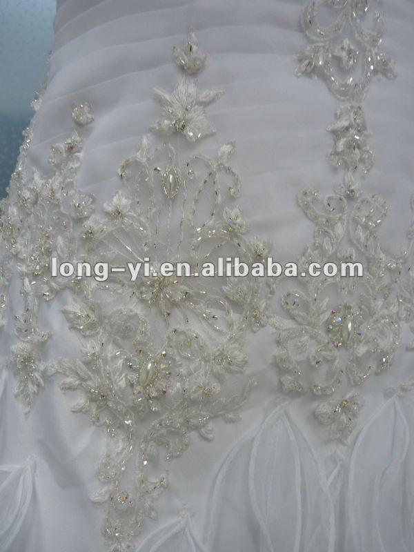 2012 A-LINE HOT SELL WEDDING DRESS
