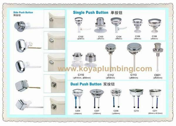 push button toilet parts. 11  Certification JC987 CSC UPC CSA CE SASO NF AS WRAS NOM Toilet Push Button KC202