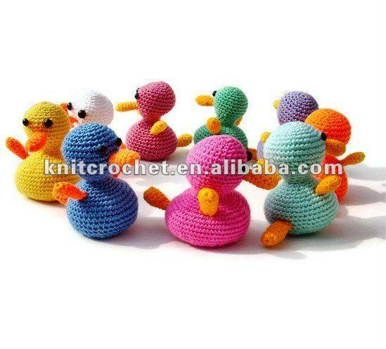 Amigurumi Toys For Babies : Amigurumi Duck Crochet Toy,Crochet Baby Toys,Crochet Toys ...
