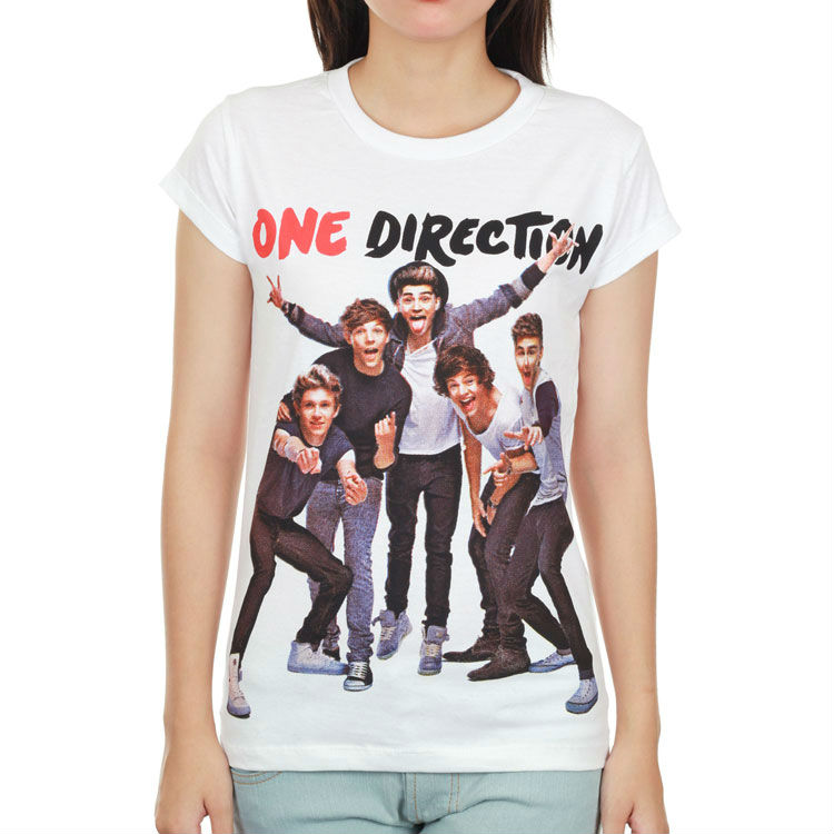 Sure Rock Cheap Cotton Print Custom One Direction T Shirt