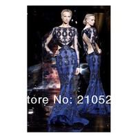 Платье на студенческий бал SFANNI Tull Royal blue, ELP0362