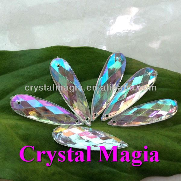 rhinestones crystal ab flatback