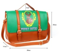Сумка через плечо lady's fashion retro pu leather shoulder bag designer hand bag women casual/leisure bag stylish bag 3 color