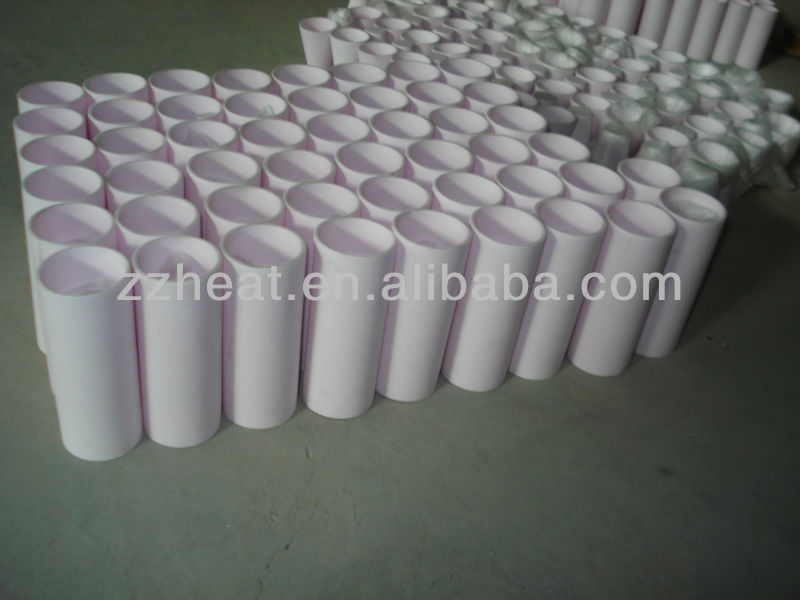 99.7% high purity alumina crucible for melting furnace
