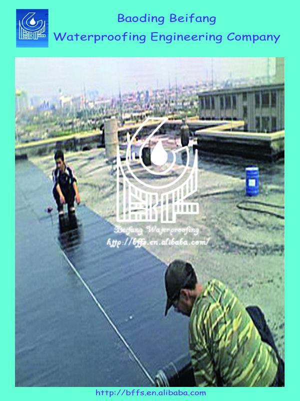 4mm SBS waterproof asphalt roll roofing membrane