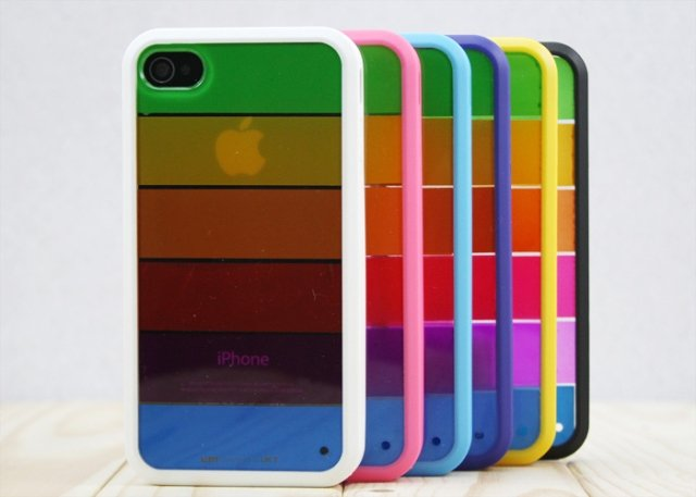 wholesale Lim's rainbow case for iPhone 4 4s,  20pcs/lot Free shipping