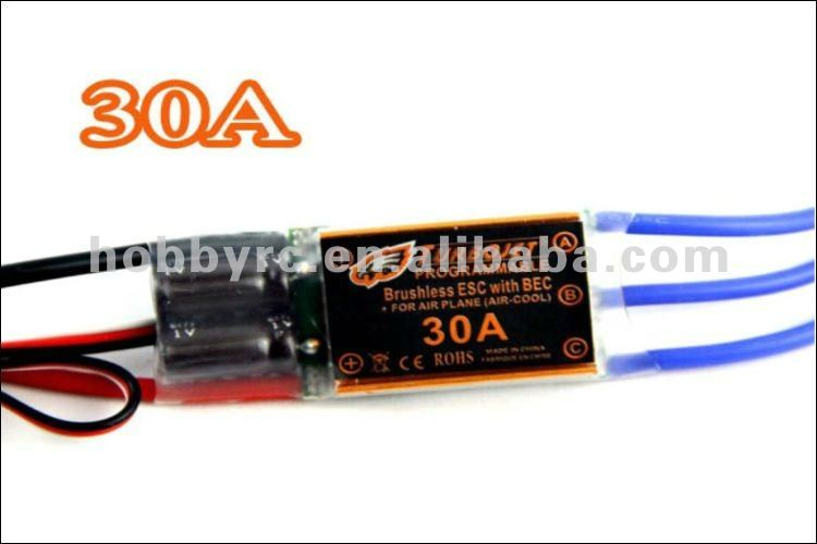TURBOJET RC 30A Brushless motor egler Motor ESC BEC 30A ESC For Airplane