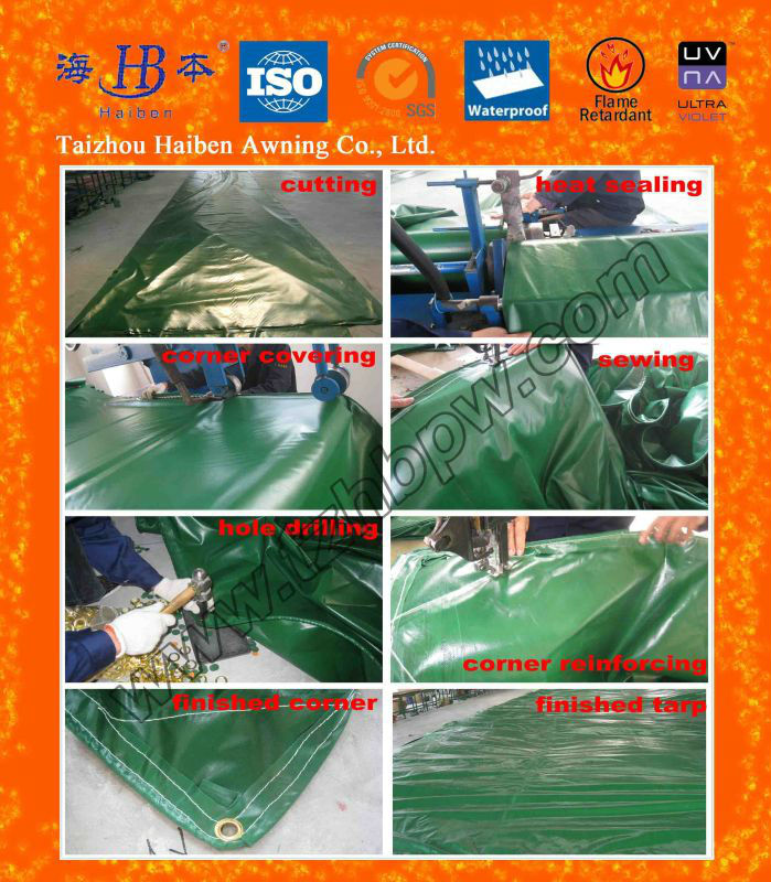 Fire Retardant and Waterproof Boat Cover PVC Tarpaulin for Boat,Ship