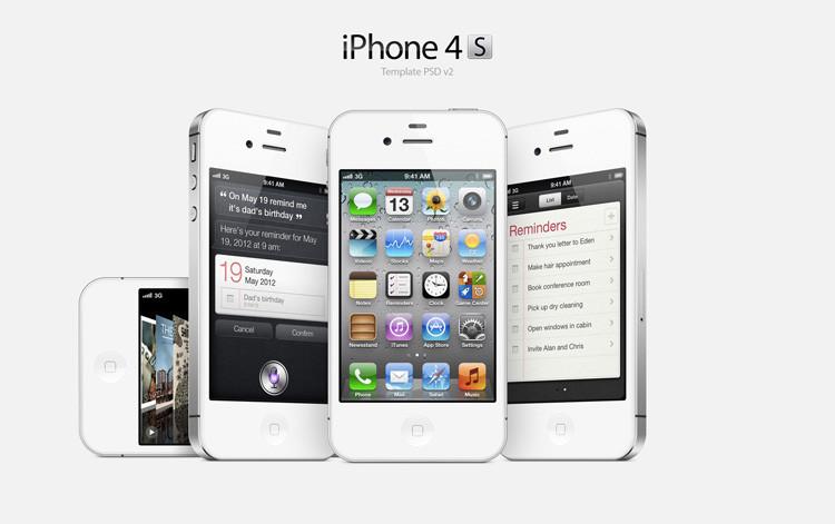 Original apple iphone 4s desbloqueado de fábrica do telefone móvel ios touchscreen 16 GB 3G WIFI GPS 8MP 1080 P IPS frete grátis presente