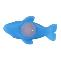 Детская игрушка для купания 2x Baby Bath Toy Color Changing Blue Dolphin LED Lamp Light touch switch, battery include