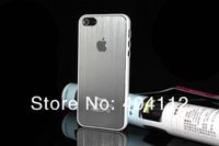 Чехол для для мобильных телефонов For iphone 5 Brushed Aluminum Case, Brushed Metal Back Case for iphone5 5g, metal cover