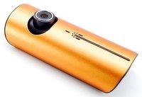 Автомобильный видеорегистратор 2012 Dual Lens HD Car DVR, with GPS 140 degree Car camera 3D Accelerat G-Sensor, Dropshipping
