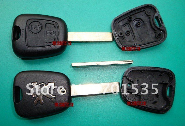 Peugeot 407 2 buttons remote key shell.jpg