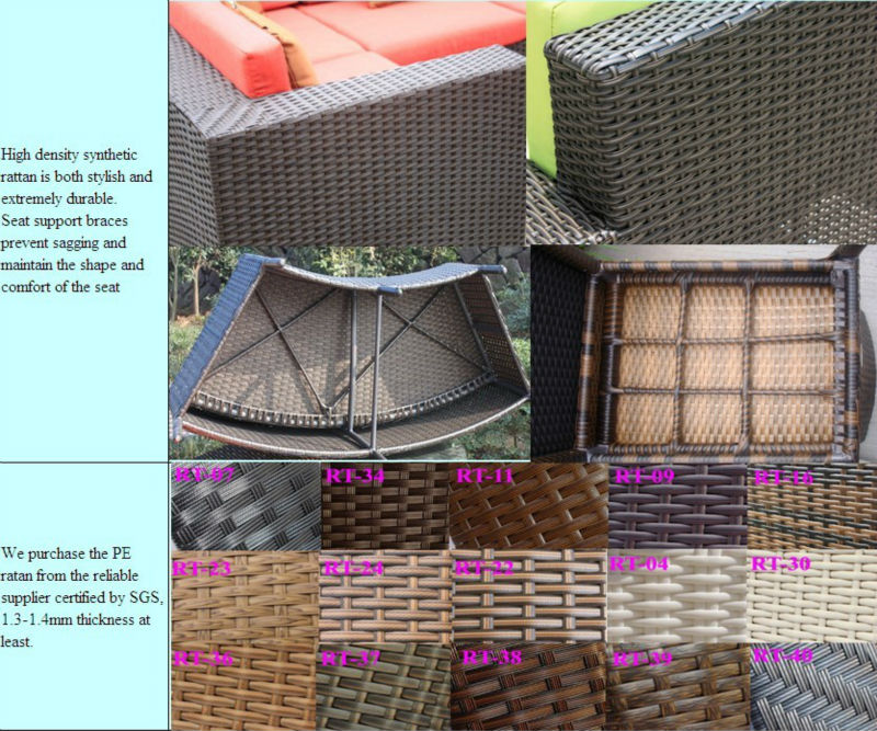 custom make wholesale clearance wicke PE rattan kennel dog beds for outdoor SCPB-002