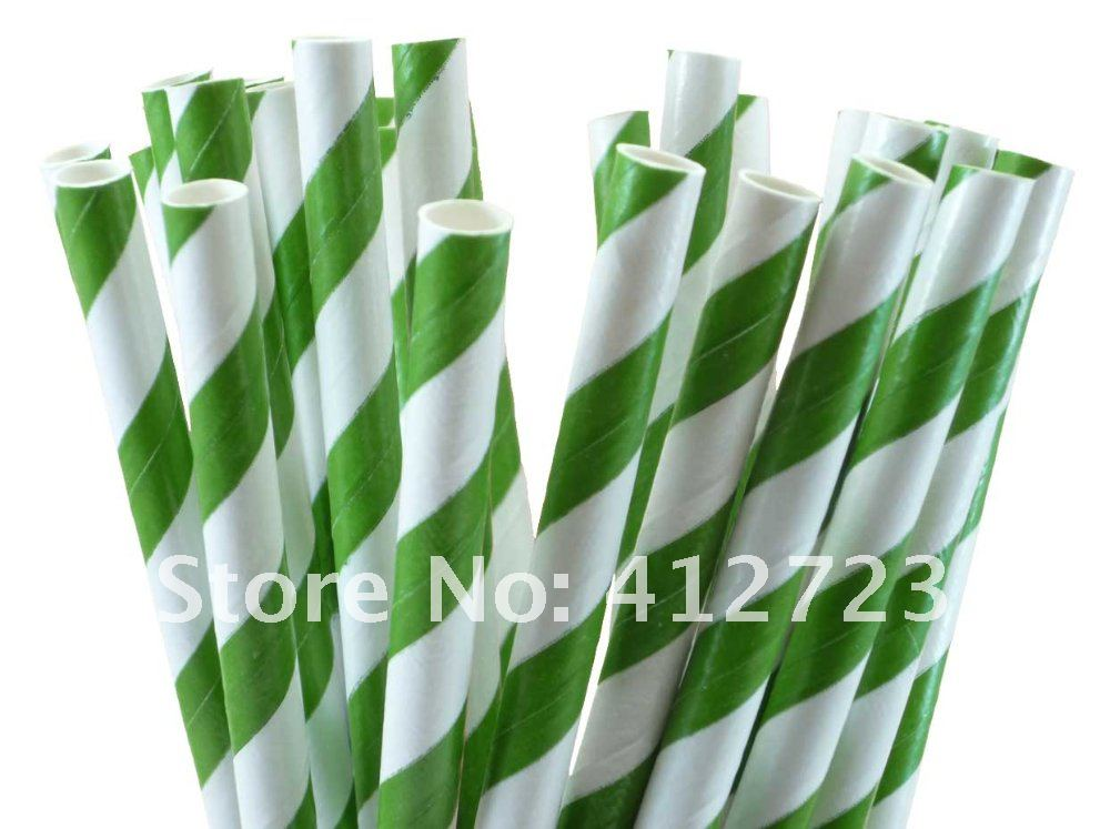 Paper Straws - Dark Green Stripes.jpg