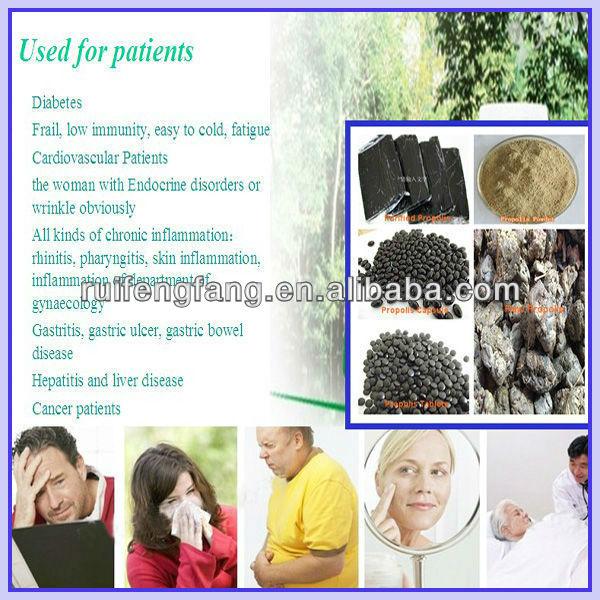 Propolis tablets/ Propolis capsules OEM Propolis for diabetics