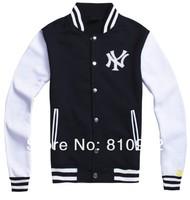 продажа NY бейсбол Мужская одежда хип-хоп бейсбол рубашка бейсбол равномерное куртка