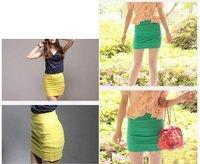 Женская юбка price new womens bodycon ribbed panel look ladies short mini skirt