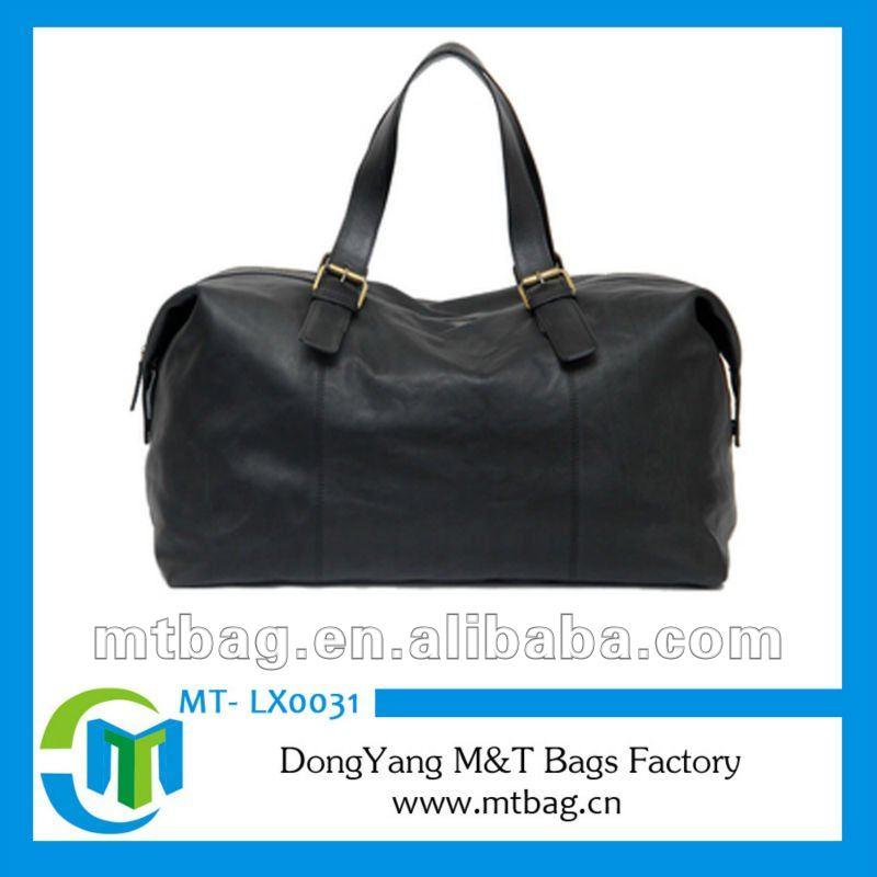 New design Duffel Sports Bag mens leather travel bag