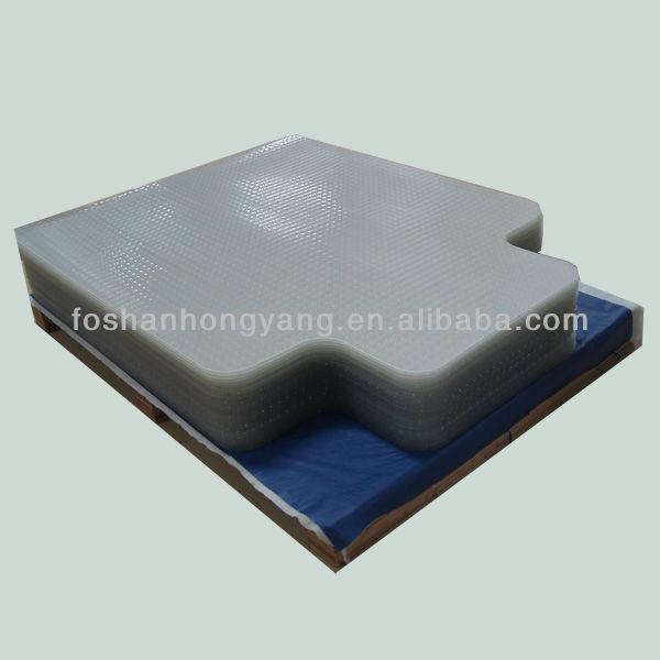 tapis de sol transparent pour bureau eliza tinsley tapis. Black Bedroom Furniture Sets. Home Design Ideas