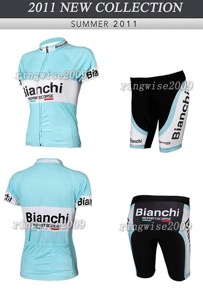 Женский костюм для велоспорта Bianchi 2011 ringwise 100%