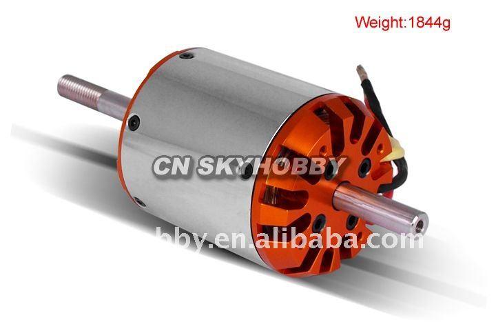 Atn c80100 kv130 outrunner brushless motor buy brushless for Toy helicopter motor rpm