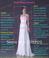 Free Shipping Grace Karin Stock Strapless Bridesmaid Gowns Ball Party Chiffon Evening Prom Dress 8 Size CL3420