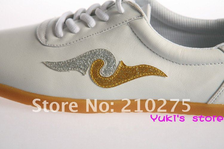 Cowhide Embroider Martial Art Kungfu sports Shoes & Oxford Sole& B6