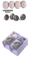 Детская игрушка розыгрыш 2012 New Stress Relievers toy, anti-stress tool, CAOMARU BROWN face balls with! MOQ only 1 piece