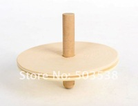 36pcs/lot,paint unfinished spin top,spinning top 6.5x5cm,decorate your own fun,back to school,Free shipping wood toy wholesale