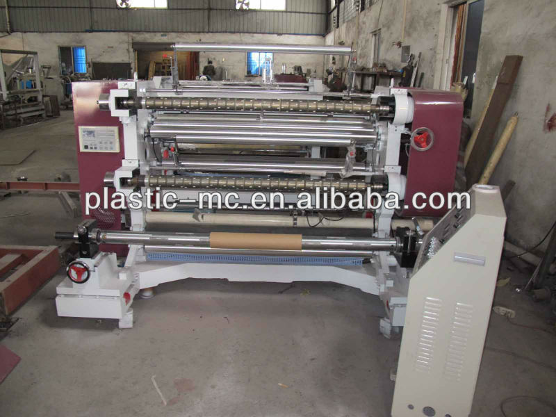 WFQ Series Horizontal type computer controlled Plastic film slitting machine