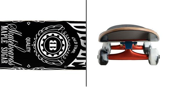 Backfire skateboard backpack skateboard