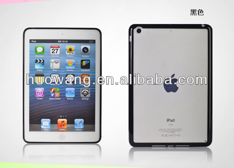 hard pc tpu frame shockproof case for ipad mini 2