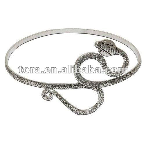 Bracelet serpent argent pas cher