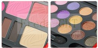 Free shipping! Concealer Camouflage Makeup Palette Set blusher pressed powder lip gloss 21color eye shadow colour makeup box set